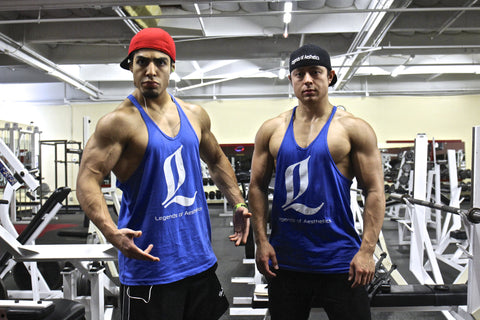 LoA Stringer Tank - Royal Blue