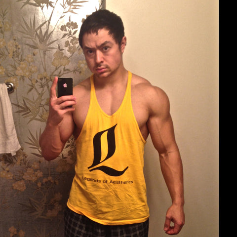 LoA Stringer Tank - Yellow
