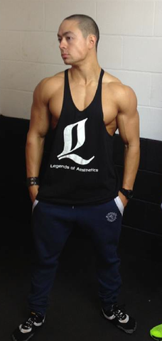 LoA Stringer Tank - BLACK