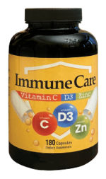 IMMUNE CARE 180 CAPS