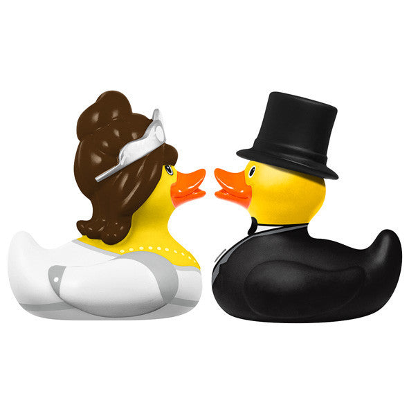 Bud Mini Bride and Groom Duckie