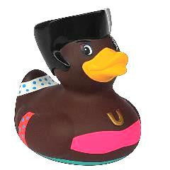 Bud Disco Queen Rubber Duckie