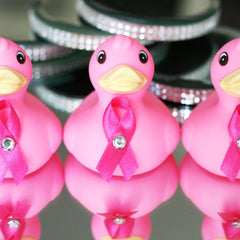 Fundraising Breast Cancer Awareness Duckies