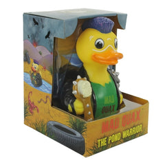 Mad Quax the Pond Warrior Rubber Duckie  'NEW'
