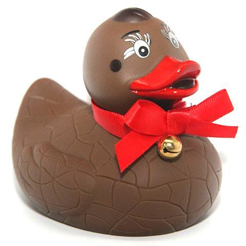 Chocoholic Red Chick Duckie