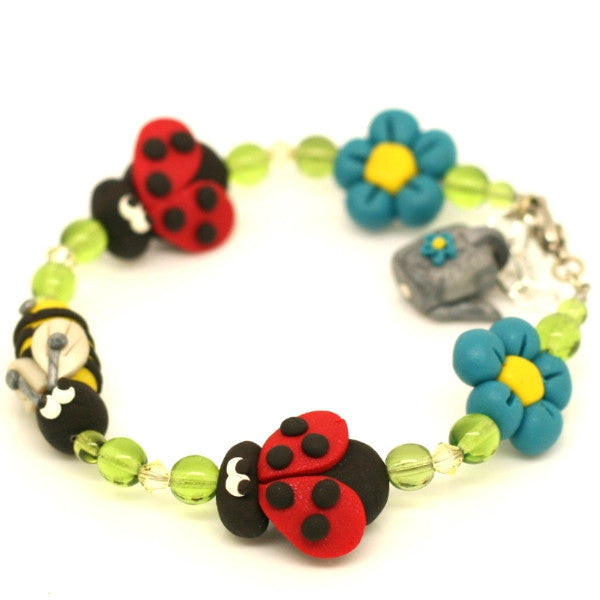 Charm Spring Has Sprung Bracelet Simple Adult Size