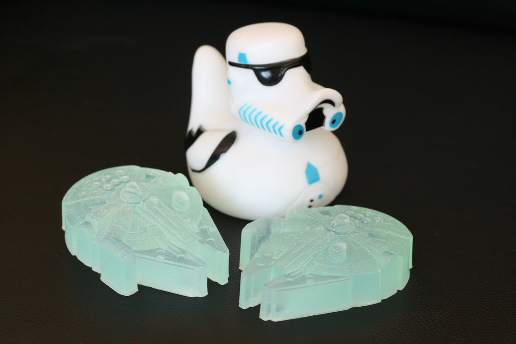 St★r Wars Falcon Millenium Blue Soap 3 Set
