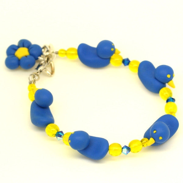 Charm ACT Duckie Bracelet Simple Adult Size