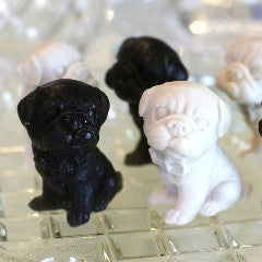 Pug Soap Black and Fawn Set of 6