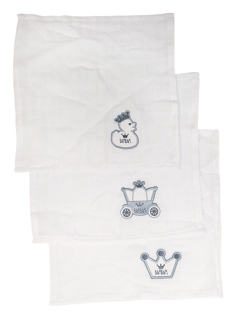 BamBam Gift Box Three Muslin Sqares