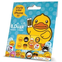 B.Duck Button Sticker