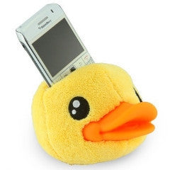 B.Duck iphone or ipod holder yellow
