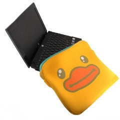 B.Duck Laptop cover Yellow