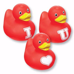 "Bud Set Mini ""I ♥ U"" Rubber Duckie"
