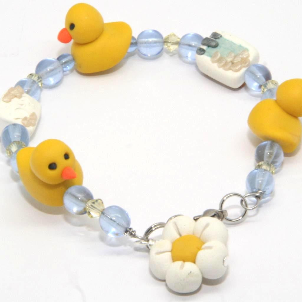Charm Duckie Bracelet Simple