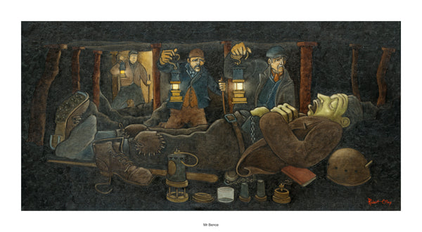 Coal Mining Prints - Mr Bence