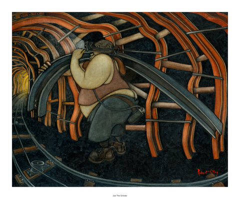 Coal Mining Prints - Joe The Girder