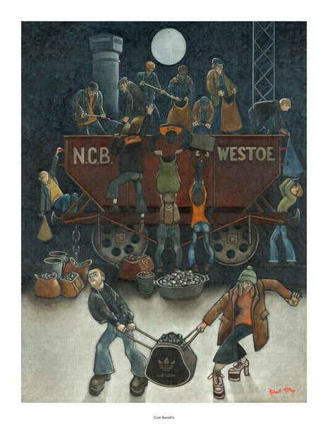 Coal Mining Prints - The Coal Bandits
