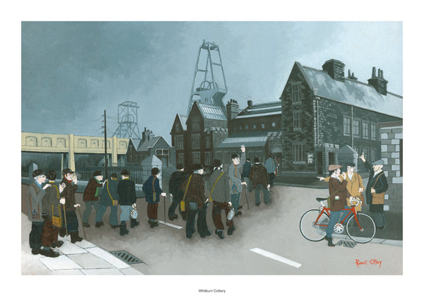 Coal Mining Prints - Whitburn Colliery 1879 - 1968