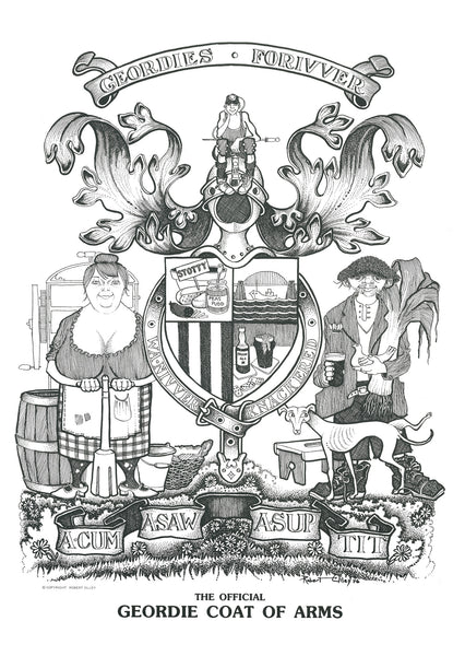 The Geordie Coat Of Arms