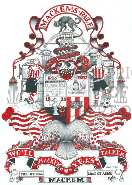 The Mackem Coat Of Arms
