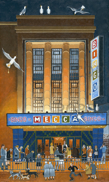 The Mecca Bingo At Night