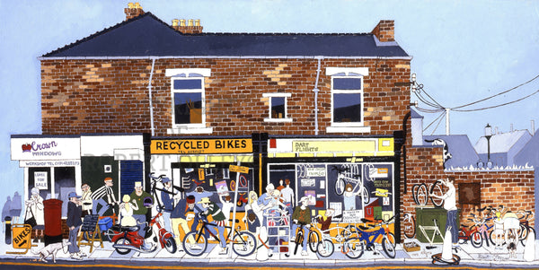 Recycled Bikes, Wharton Street, South Shields