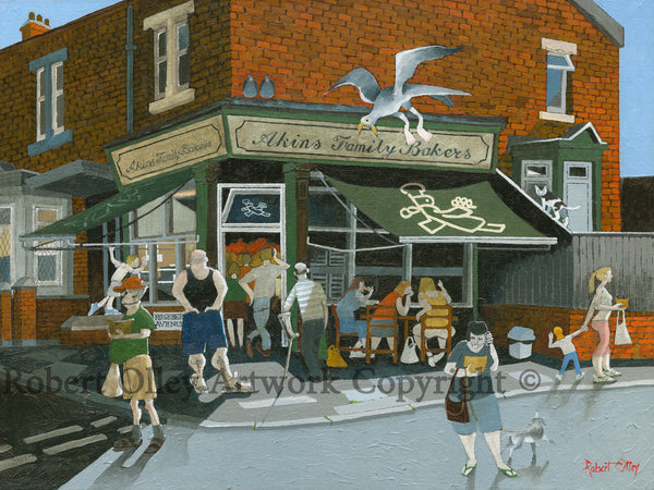 North East Art Prints - The Bakery