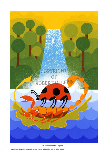Aesop's Fables - The Scorpion And The Ladybird