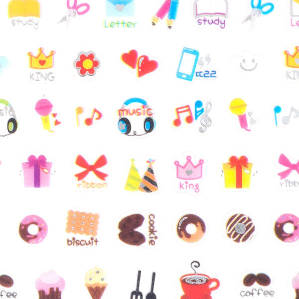 Cutie Shiny Icon Stickers