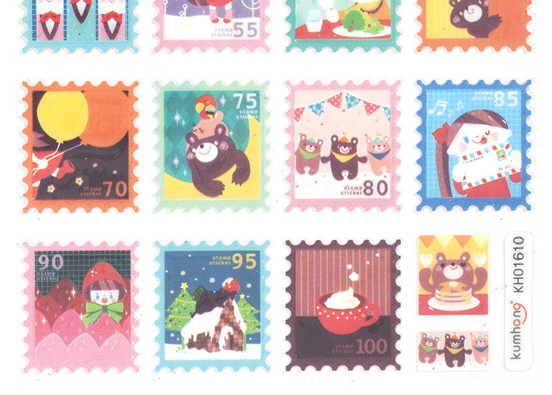 Season Stamps Stickers