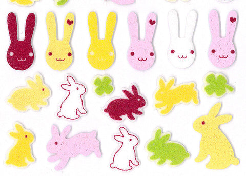 Rabbit Felt Stickers