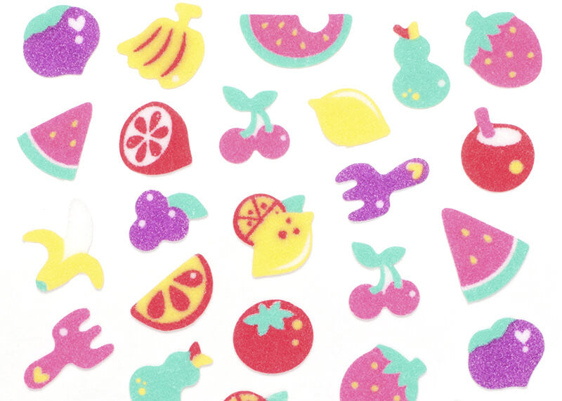 Fruit Felt Stickers