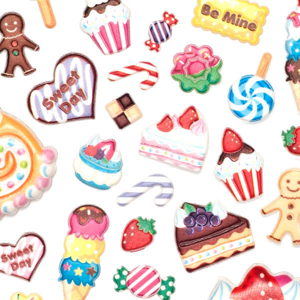 Squishy Pudding Stickers