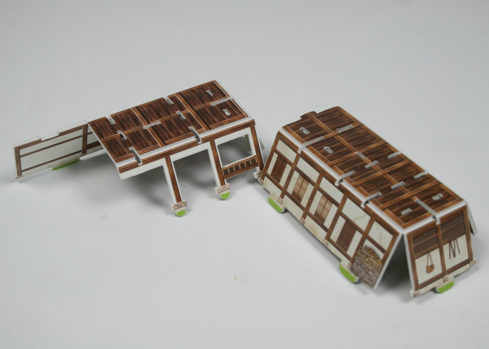 3D Puzzle - Korean Traditional Tiled-Roof House