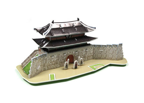 3D Puzzle - Korean Tradition - Restorated Sungnyemun Gate (S)
