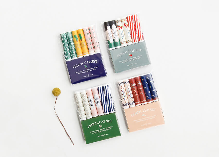 Pencil Cap Set v.2
