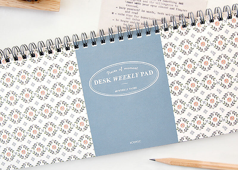 Desk Weekly Pad