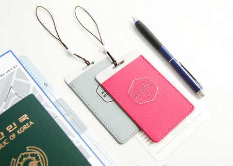 Flat Luggage Tag v.2