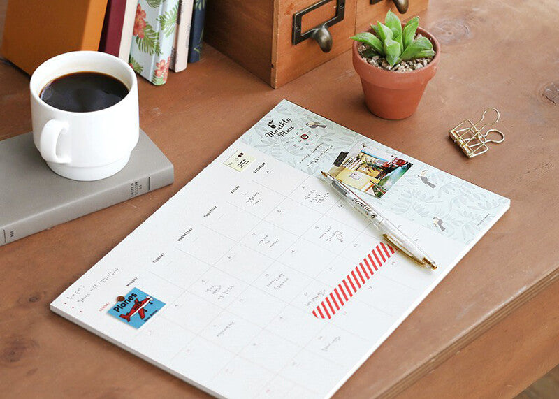 Desk Monthly Pad 2