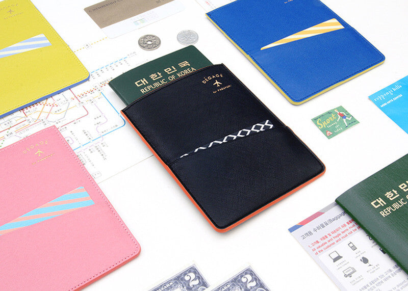 Flat Passport Case