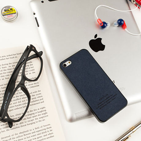 Hard iPhone 5 Case Leather