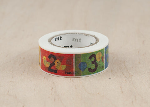 Kids Number Washi Tape