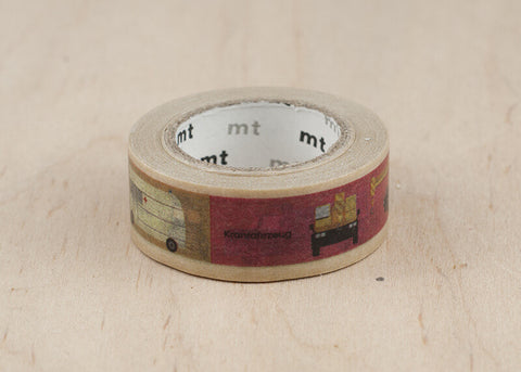 Kids Vehicle Washi Tape