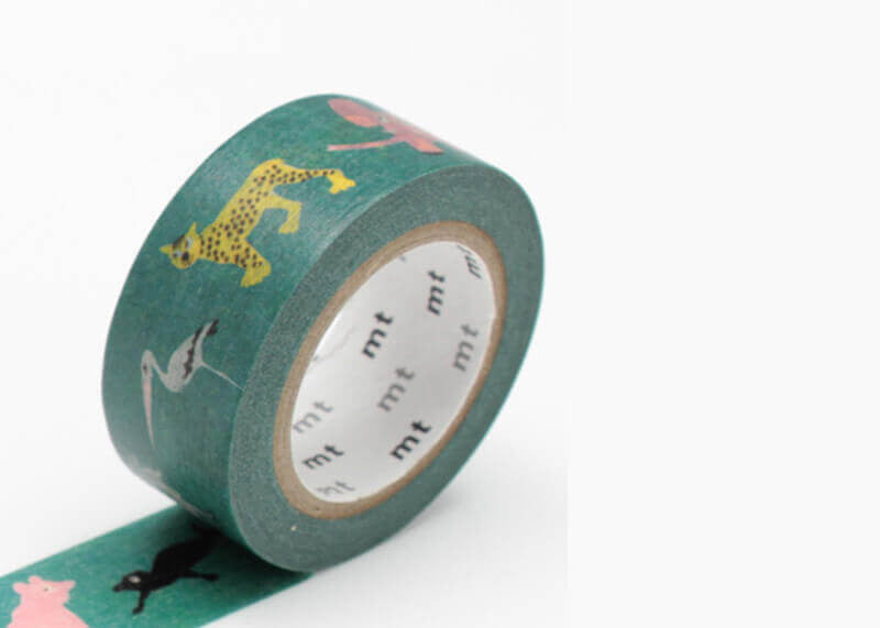 Skansen Animals Washi Tape