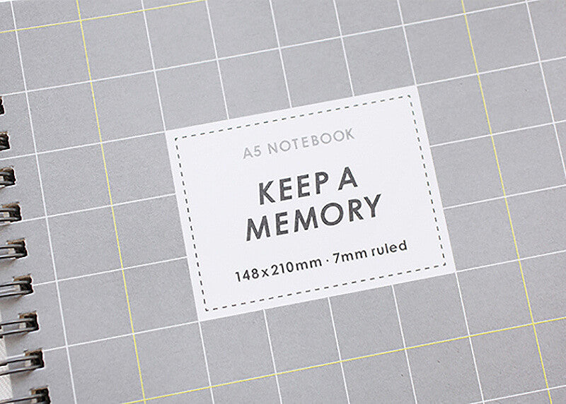 Keep a Memory Notebook