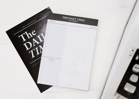 The Daily Times Desk Notepad