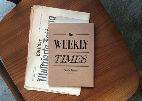 The Weekly Times Notebook