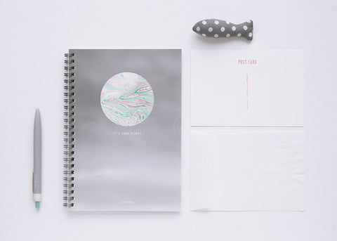 Planet Spring Notebook