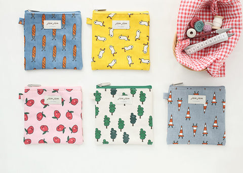 Jam Jam Coating Mini Pouch